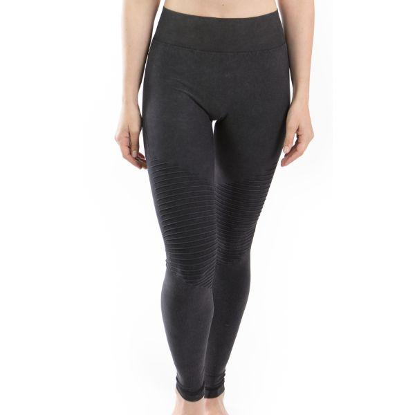 Daily Steals-Moto Seamless Leggings by Electric Yoga-Women's Apparel-Charcoal-XS/S-
