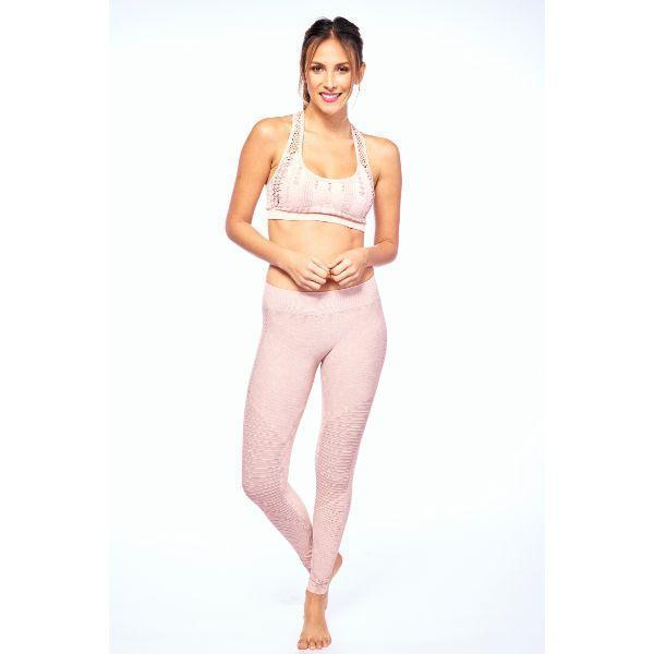 Daily Steals-Moto Seamless Leggings by Electric Yoga-Women's Apparel-Pink-XS/S-