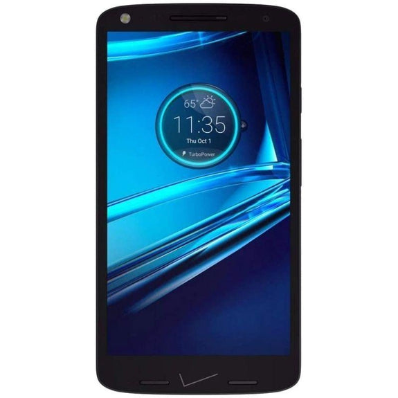 Motorola Droid Turbo 2 Fully Unlocked 32GB Smartphone-Black-