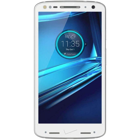 Motorola Droid Turbo 2 Fully Unlocked 32GB Smartphone-White-