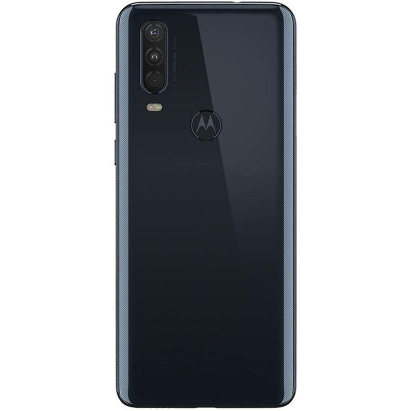 Motorola One Action - Unlocked, 4GB RAM, 128GB Storage, 6MP Camera - Denim-
