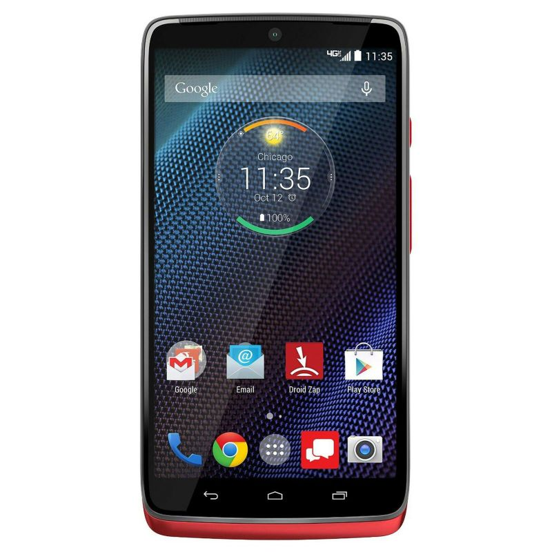 Motorola Droid Turbo 32GB Verizon Android Phone-Red-Daily Steals