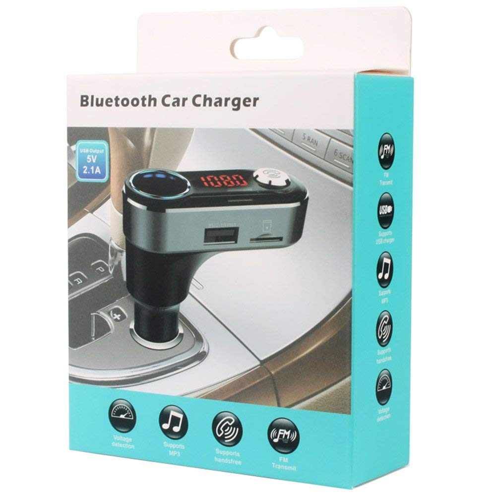 update alt-text with template Daily Steals-Bluetooth Hands-Free Car Charger MP3 Player-Car Accessories-