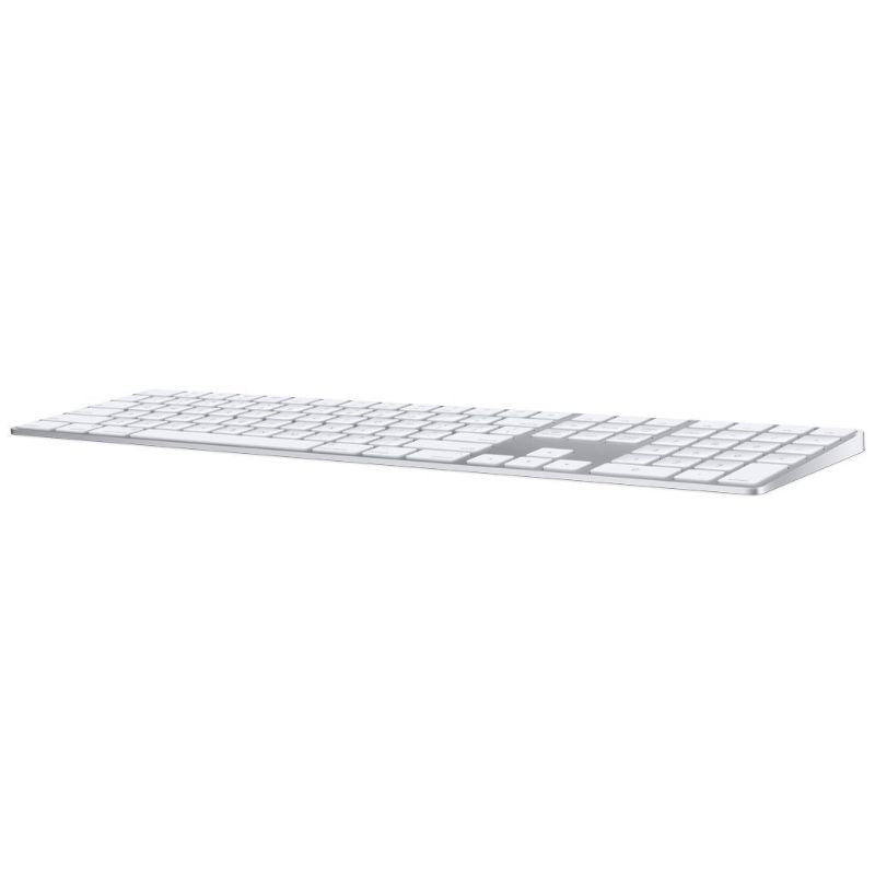 Apple Magic Keyboard avec pavé numérique (sans fil, rechargeable) - Silver-Daily Steals