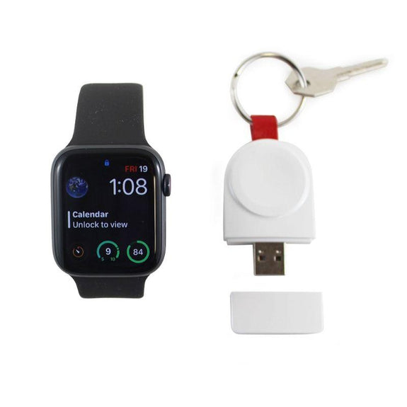 USB Wireless Apple Watch Charger-White-Daily Steals