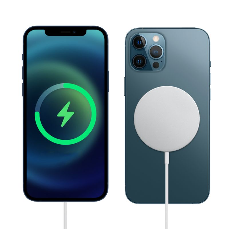 Mag Safe Wireless Charger with 20W Power Adapter