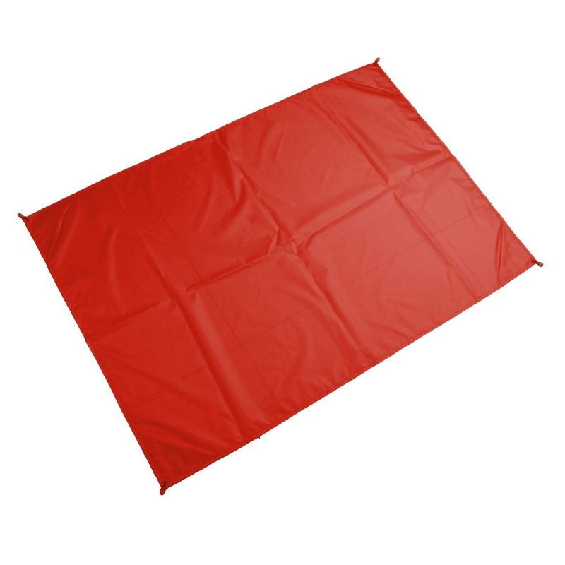 Outdoor Camping and Picnic Mat With Carrying Bag-Red-Daily Steals