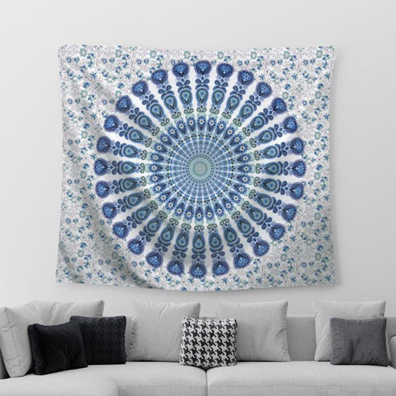"Boho Mandala Wall Art Hanging - 60"" x 51""-Daily Steals"