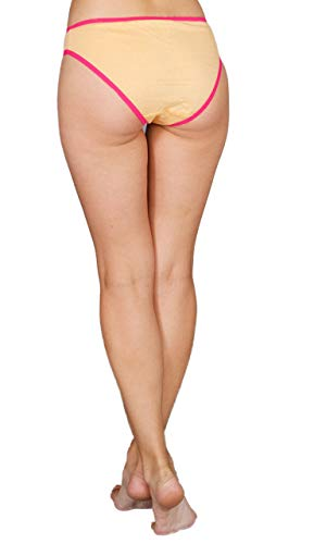 [12-Pack] Bikini Brief Panties - Assorted Colors-Daily Steals