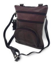 Genuine Leather Cross-Body Messenger Bag Purse-Brown-Daily Steals