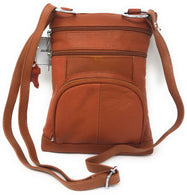 Genuine Leather Cross-Body Messenger Bag Purse-Daily Steals