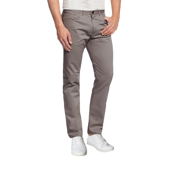 Daily Steals-Mens 5-Pocket Ultra-Stretch Slim Fit Chino Pants-Men's Apparel-Dark Grey-30X30-
