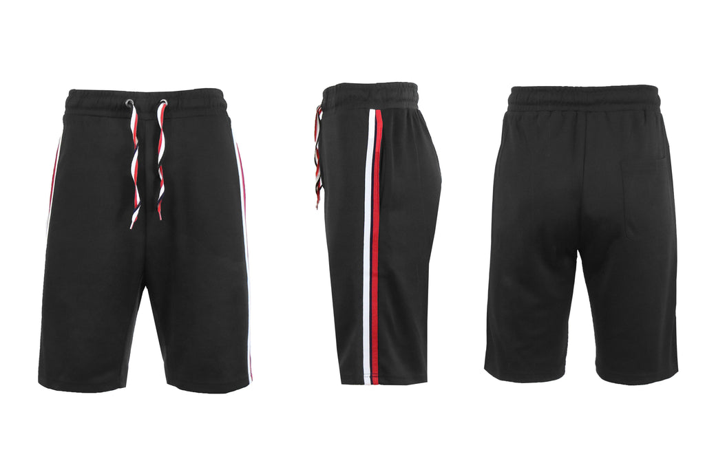 Moisture Wicking Tech Shorts for Men-Black-S-Daily Steals