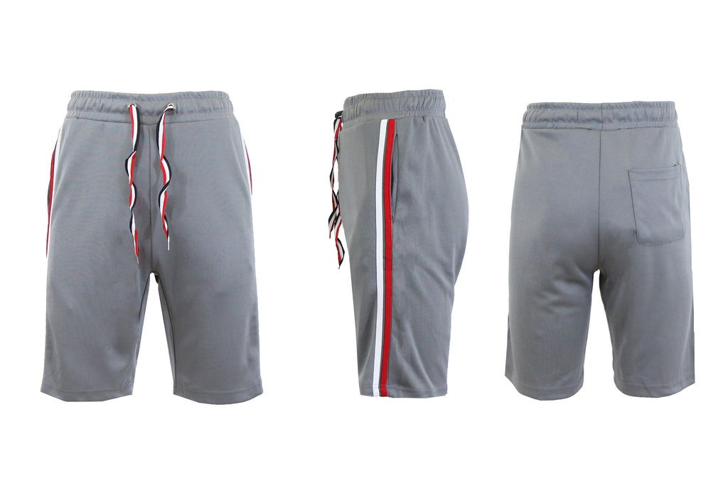 Moisture Wicking Tech Shorts for Men-Charcoal-S-Daily Steals