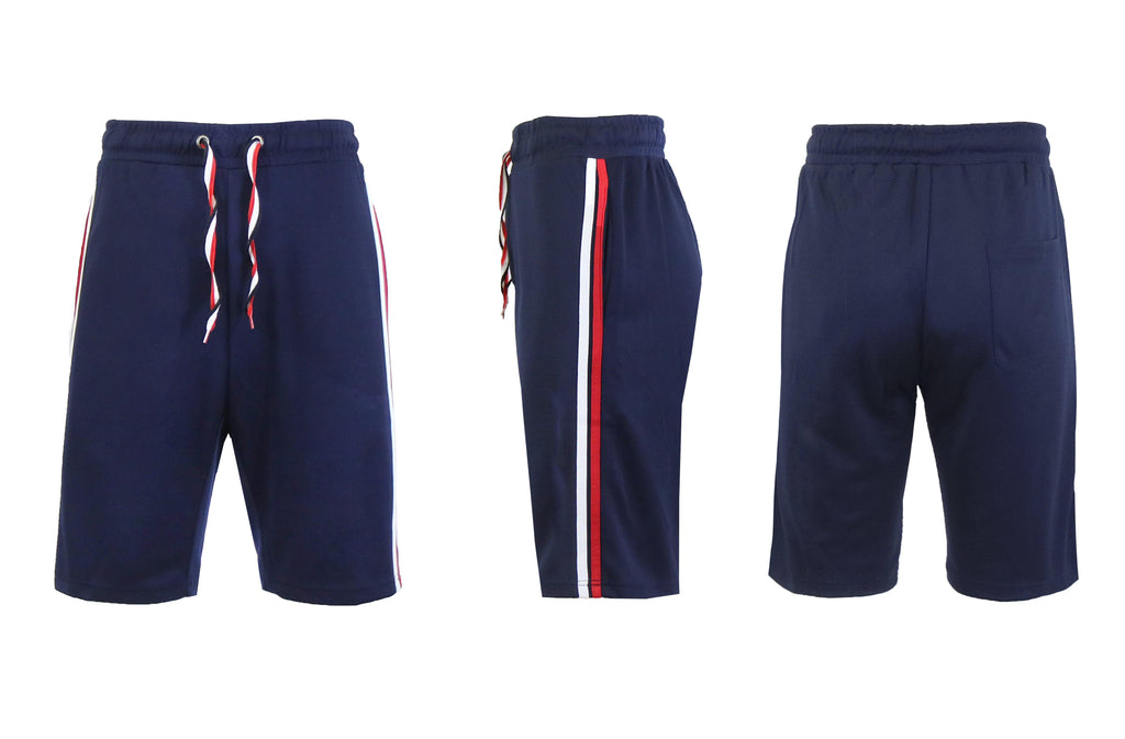 Moisture Wicking Tech Shorts for Men-Navy-S-Daily Steals