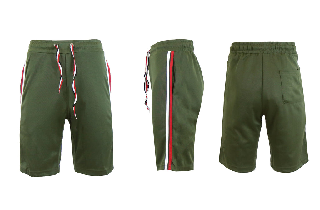 Moisture Wicking Tech Shorts for Men-Olive-S-Daily Steals