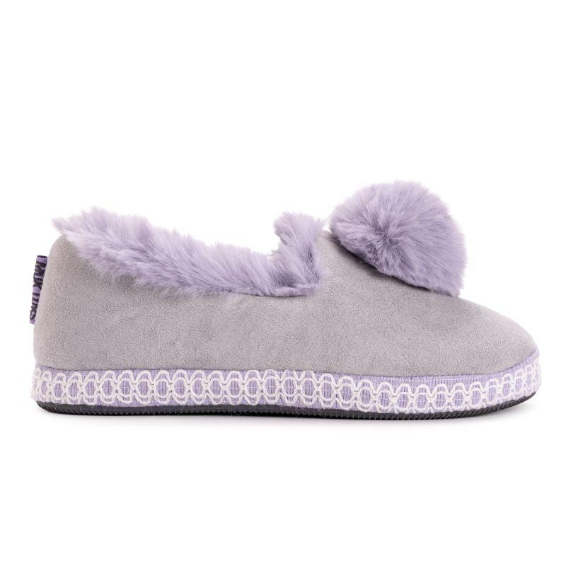 Muk Luks Women's AmyLou Slippers-Purple-Large (9-10)-