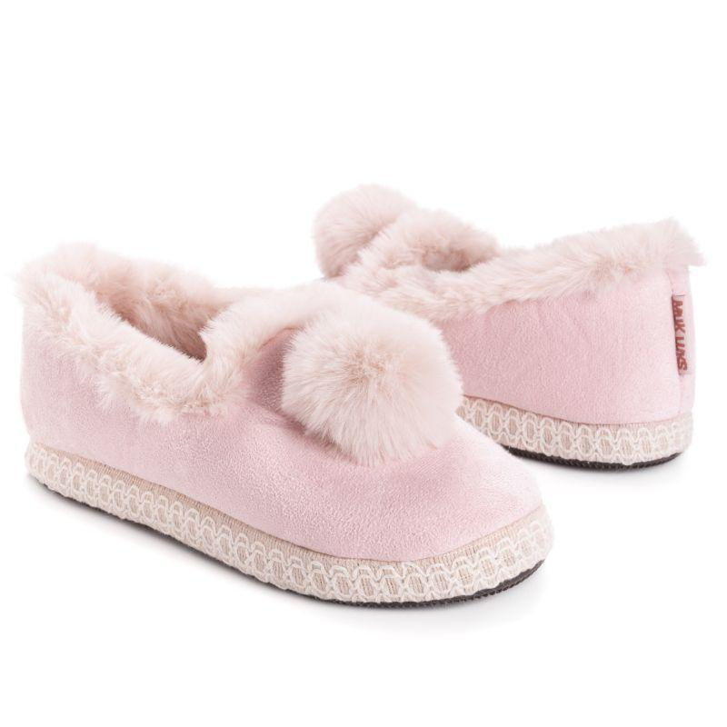 Muk Luks Women's AmyLou Slippers-Pink-Large (9-10)-