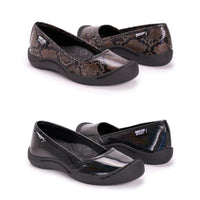 Muk Luks Women's Sandy Sporty Shoes-Black Sparkle-10-