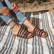 Muk Luks Terri Summer Sandals-Ebony-7-