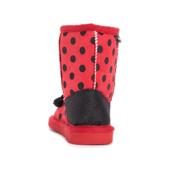 MUK LUKS Kid's Reese Ladybug Boots-Daily Steals