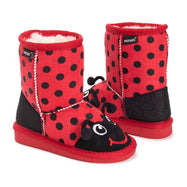 MUK LUKS Kid's Reese Ladybug Boots-8-Daily Steals