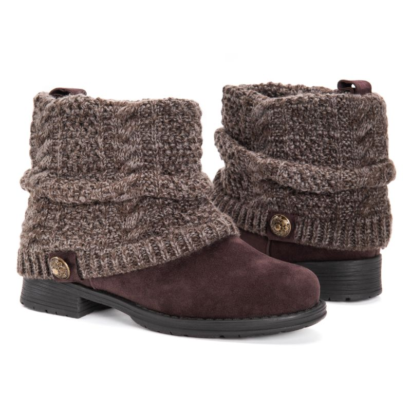MUK LUKS Women's Pattrice Boots-Java-6-Daily Steals