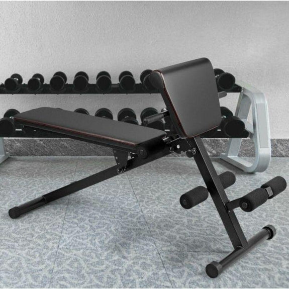 Multi-Functional Adjustable Full Body Exercise Weight Bench-