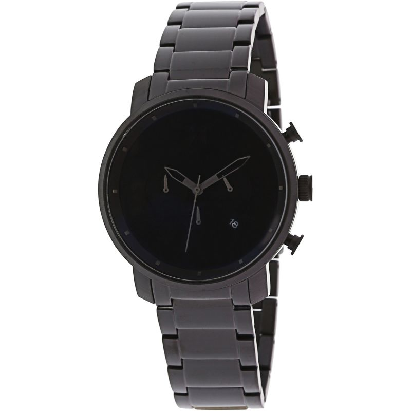 MVMT Men's Chrono Black Stainless-Steel Analog Quartz Watch-Daily Steals