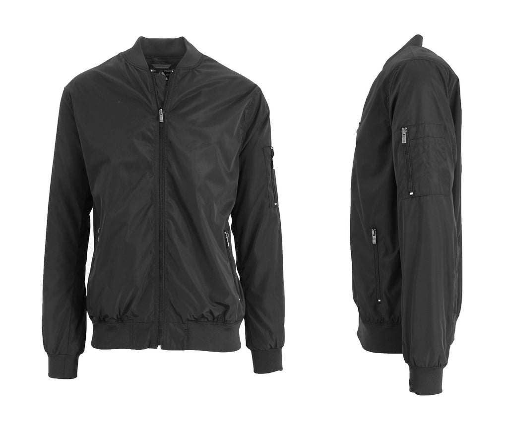Men's Lightweight Windbreaker Jacket-Black-S-Daily Steals
