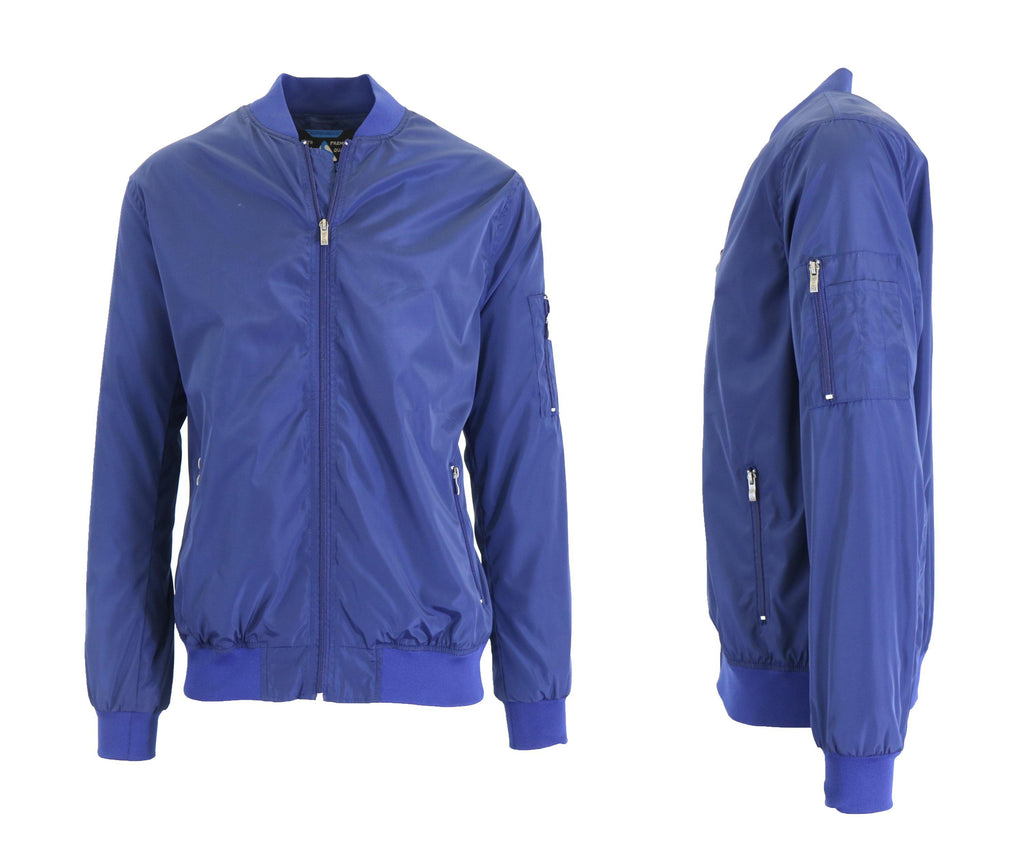 Men's Lightweight Windbreaker Jacket-Navy-S-Daily Steals