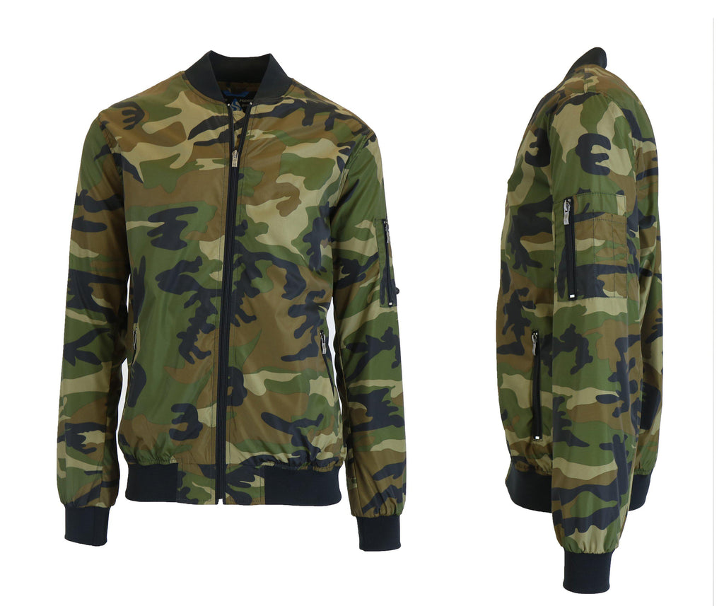 Men's Lightweight Windbreaker Jacket-Camo-M-Daily Steals