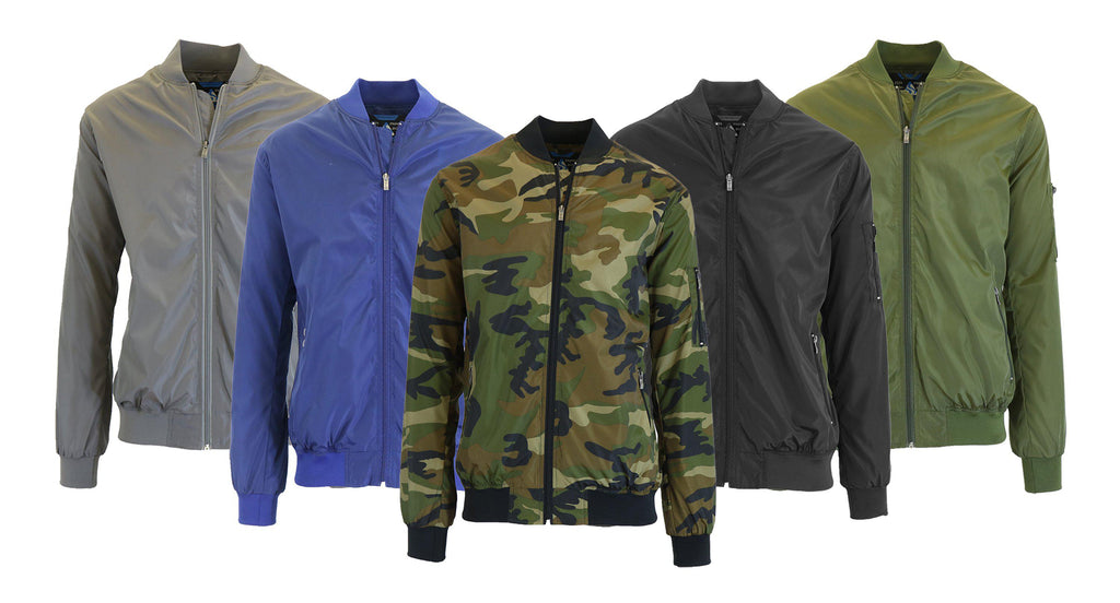 Men's Lightweight Windbreaker Jacket-Olive-S-Daily Steals