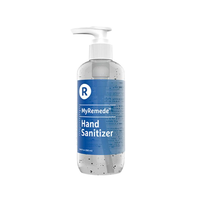 MyRemede Hand Sanitizer, 75% Alcohol No-Scent Gel, 9.46 fl oz - 4,8,12,24 Pack-4-