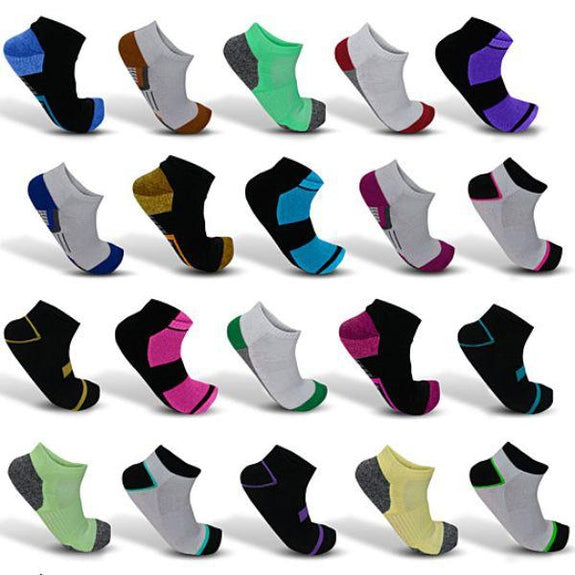 Daily Steals-Mystery Deal: Men's Moisture Wicking Low-Cut Socks - 20 Pair-Wearables-