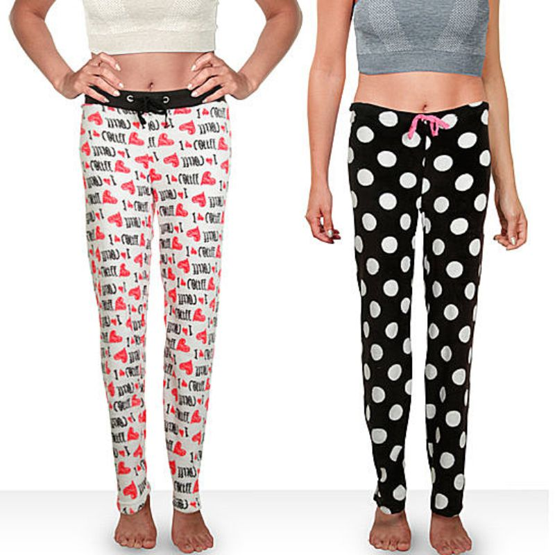 Mystery Deal: Women's Soft & Plush Fleece Pajama Pants-Daily Steals