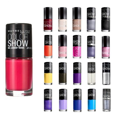 Daily Steals-Maybelline Color Show Finger Nail Polish Collection Set - 10 Pack-Health and Beauty-