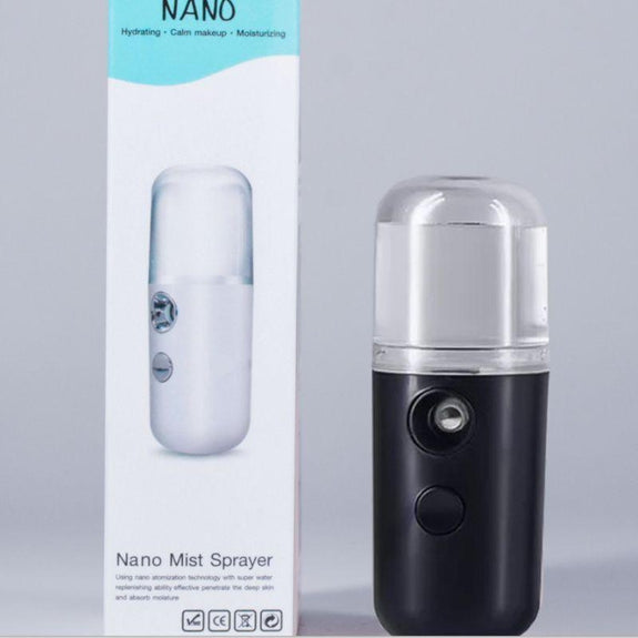 Nano Mister for Sanitizing or Facial Mist-Black-