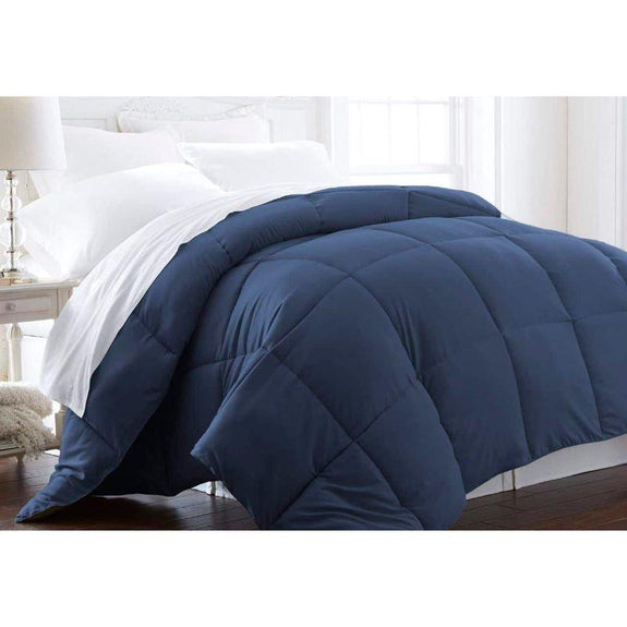 Home Collection All-Season Premium Down Alternative Comforter-Navy-Twin-Daily Steals