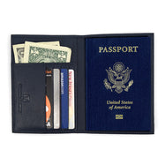 Genuine Leather American Eagle Embossed RFID-Blocking Passport Case-Daily Steals