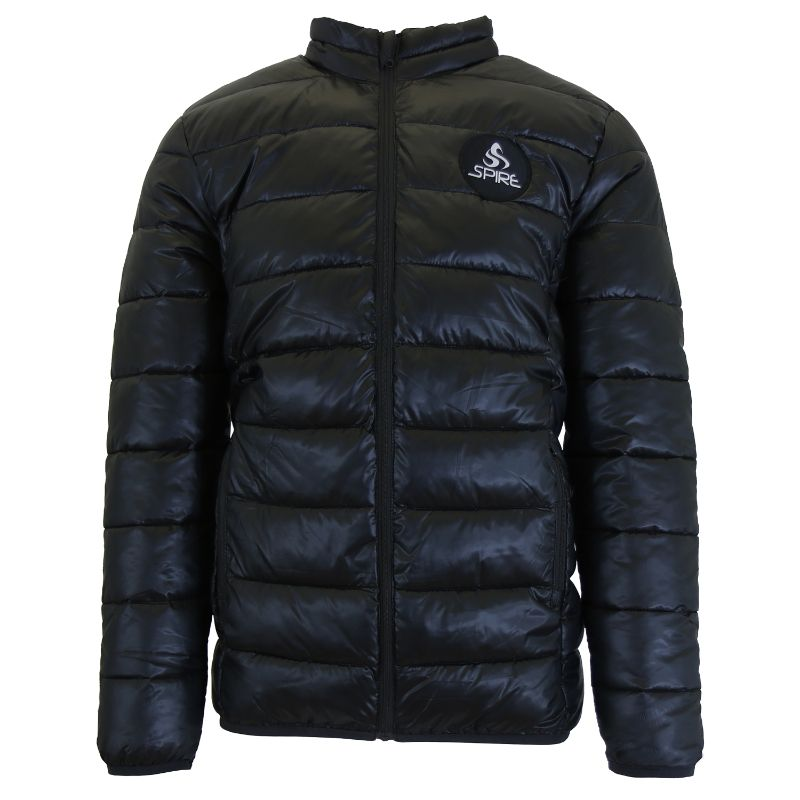 Daily Steals-Men's Lightweight Puffer Bubble Jacket-Men's Apparel-Black-Small-
