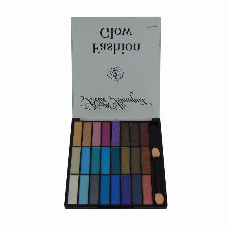 Neche Cosmetics Fashion Glow Eyeshadow Makeup Palette - 24 Color Shades-Daily Steals