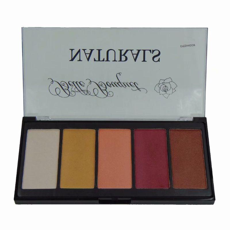 Neche Cosmetics Naturals Eyeshadow Makeup Palette - 5 Color Shades-Daily Steals
