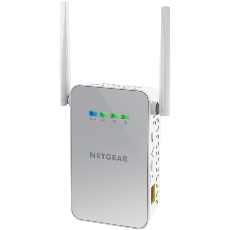Daily Steals-NETGEAR Powerline 1000 Mbps WiFi, 802.11ac, 1 Gigabit Port-Home and Office Essentials-