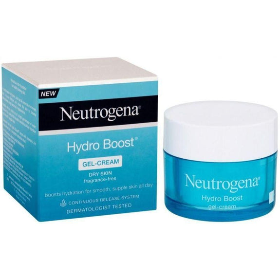 Neutrogena Gel Cream with Hydrating Facial Moisturizer for Dry Skin, 50 ml (1.7 Oz)-