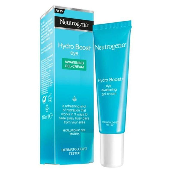 Neutrogena Hydro Boost Eye Awakening Gel Cream, 15 ml (0.5 Oz) - 2 Pack-Daily Steals