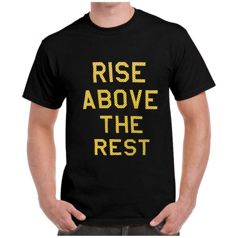 New Balance Men's Rise Above The Rest Short Sleeve Crewneck T-Shirt-Black-S-