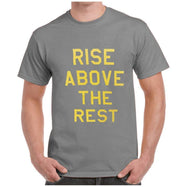New Balance Men's Rise Above The Rest Short Sleeve Crewneck T-Shirt-Gray-S-