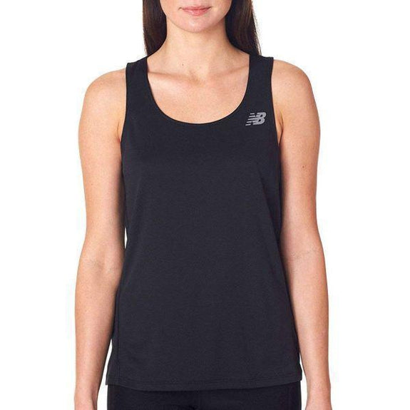 Daily Steals-New Balance Women's Tempo Running Singlet Tank Top - 8 Colors-Women's Apparel-BLACK-XS-