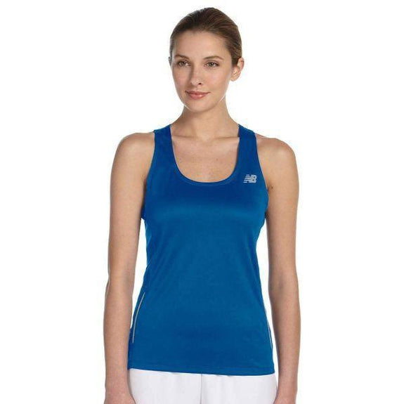Daily Steals-New Balance Women's Tempo Running Singlet Tank Top - 8 Colors-Women's Apparel-BLUE-XS-
